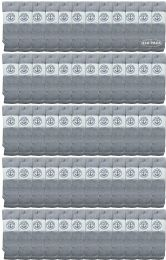 240 of Yacht & Smith Men's 31 Inch Cotton Terry Cushioned Athletic Gray Tube SockS-King Size 13-16