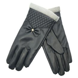 72 of Women's Leather Touch Screen Glove