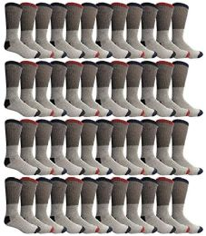 48 of Yacht & Smith Womens Cotton Thermal Crew Socks , Warm Winter Boot Socks 9-11