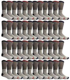 48 of Yacht & Smith Womens Cotton Thermal Crew Socks , Warm Winter Boot Socks 9-11