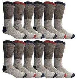 12 of Yacht & Smith Womens Cotton Thermal Crew Socks , Warm Winter Boot Socks 10-13