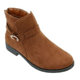 12 of Women's Suede Ankle Boots In Brown