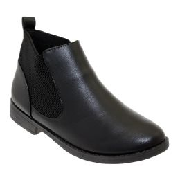 12 of Women's Leather Ankle Booties In Black