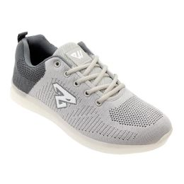 12 of Men's Casual Athletic Sneakers In Light Grey