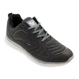12 of Men's Casual Athletic Sneakers In Black