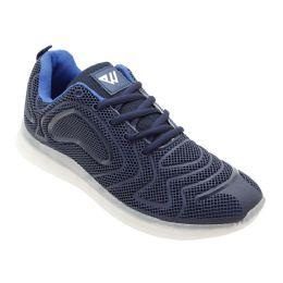 12 of Men's Casual Athletic Sneakers In Navy