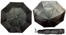 24 of Solid Black color Umbrella