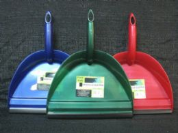 36 of Plastic Handheld Dustpan With Rubber