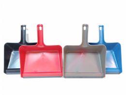 24 of Plastic Jumbo Size Dustpan