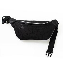 24 of Diamond Design Large Fanny Packs Belt Bags In Black
