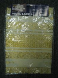 144 of Vinyl Lace Placemat Ivory Gold