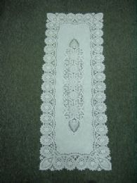 120 of Crochet White Lace Table Runner