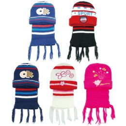 72 of Children's Hat And Scarf Set
