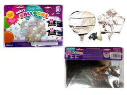 144 of 8 Pc Party Balloon SeT- Silver Only