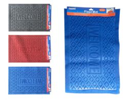 48 of Floor Mats In Assorted Colors