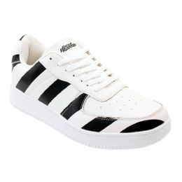 12 of Men's Striped Casual Sneakers