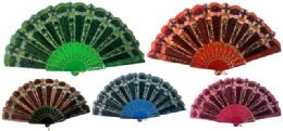 48 of Hand Fan With Assorted Design