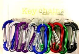 48 of Large Size Key Chain Assorted Colors