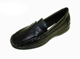 18 of Womens Moccasin Style Slide On Shoes In Black