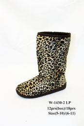 24 of Womens Leopard Print Slide On Sneakers