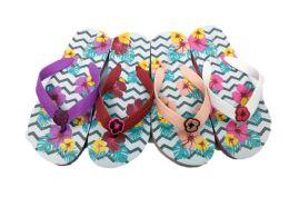 48 of Flower Print Cute Flip Flops For Girls