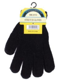 240 of Unisex All Black Chenille Gloves