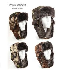 36 of Cold Windproof Winter Aviator Collection Trooper Trapper Hunting Hat Aviator Winter