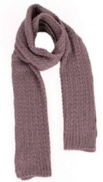 48 of Women's Cable Knit Scarf