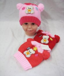 36 of Baby Girls Beanie Hat With Pompom
