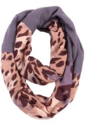 72 of Women's Leopard Print Light Weight Infinity Scarf