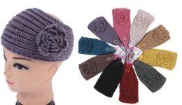 120 of Knit Flower Headband