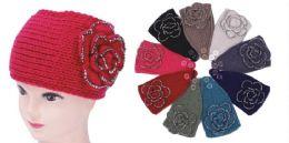 96 of Knit Flower Headband