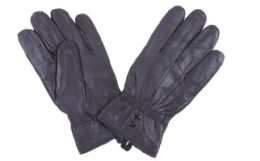 72 of Women's Black Leather Gloves