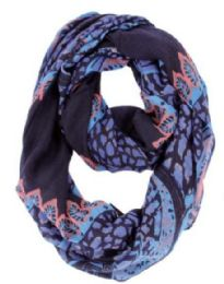 72 of Women's Mixed Print Light Weight Infinity Scarf