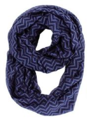 72 of Women's Chevron Infinity Scarf