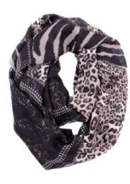 72 of Women's Wild Animal Print Infinity Scarf