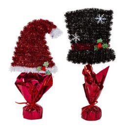 24 of Centerpiece Tinsel Christmas Decor