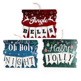 36 of Hanging Christmas Sign Decor