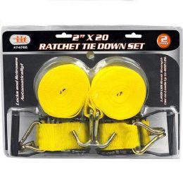 6 of Ratchet Tie Down Set
