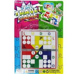 72 of 2 In 1 Travel Game Sets