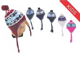 72 of Kid's Snowflake Helmet Hat