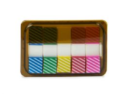 144 of Mini Sticky Page Markers, Striped