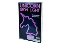 12 of Tabletop Battery Operated Unicorn Neon Light