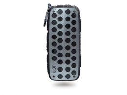3 of Ijoy Rugged Shell Splashproof Bluetooth Speaker In Black