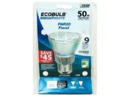 72 of Ecobulb Par20 Cfl Flood Light 50 Watt Equivalent