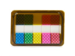 144 of Mini Sticky Page Markers, Polka Dots