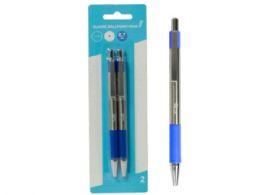 72 of Retractable Classic Ballpoint Pens, Blue (2pk)