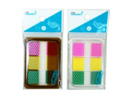 144 of Sticky Page Markers, Striped