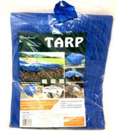 10 of 12x16 Blue Tarp