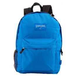 """24 of 18"""" Classic Royal Backpacks With Side Mesh Water Bottle Pocket"""
